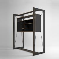 FRAME Suspended Furniture for Wall Mounted Drying Clothing Rack Manufactures