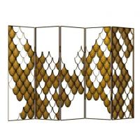 KOI Folding Screen for Modern Home Decor,room Divider Screen Manufactures