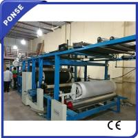 China Oil-based Glue Upholstery Peach Skin Lamination Machine for Ready to Wear on sale