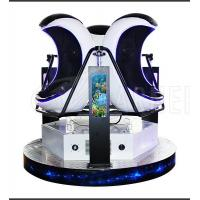 China New Rides 1 /2 /3 seat vr egg simulator with glasses wholesale