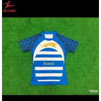 China Latest Cheap Sublimation Rugby Jersey on sale