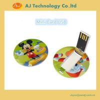 USB Flash drive Round card usb Manufactures