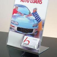 Buy cheap Acrylic Brochure&Menu Holder from wholesalers
