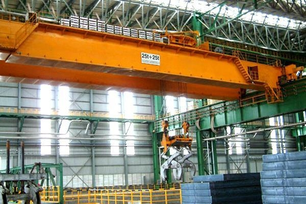 Quality Overhead Crane with Clamps for sale