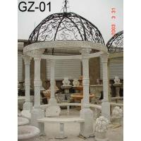 China Gazebo GZ-01 WHIT MARBLE CARVINGS on sale