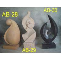 China Abstract ab28-29-30 MARBLE CARVINGS on sale