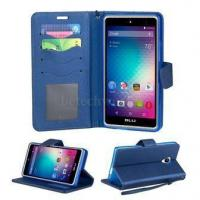 BLU Grand 5.5HD 360  All Protection Phone Wallet Case With Magic Magnet And Credit Card Slots Manufactures