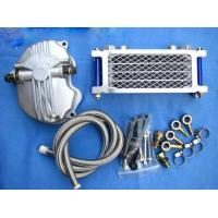 China Universal Aluminum Oil Cooler For 125 cc Motorcycle on sale
