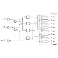 China Analog Switch Dual 4-Channel Analog Multiplexer/Demultiplexer on sale