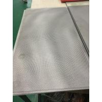 Customerized size titanium mesh plate with high quality Manufactures