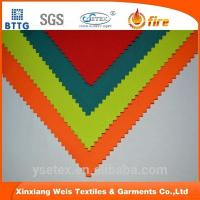 flame resistant fabric ysetex EN11611 100% cotton fire resistant fabrics used for coverall Manufactures