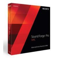 Sony Creative Software sound forge pro Mac 2.5 Manufactures