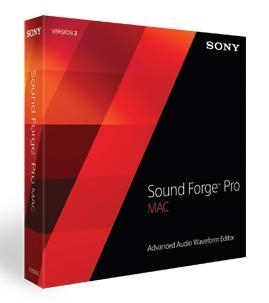 Quality Sony Creative Software sound forge pro Mac 2.5 for sale