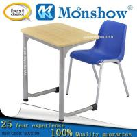 Sale Cheap Plastic Chair With Wood Table For School Furniture Manufactures