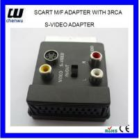 Buy cheap SCART M/F Adapter with 3RCA JACK from wholesalers