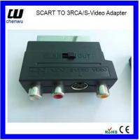 Buy cheap Scart to 3RCA S-Video Adapter from wholesalers