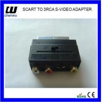 Buy cheap SCART TO 3RCA ADAPTER from wholesalers