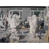 China marble animal lion statues on sale
