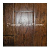 Antique style hand scraped solid oak flooring Manufactures