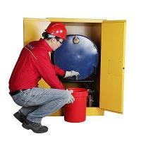 China 55 Gallon Flammable Drum Storage Cabinets on sale