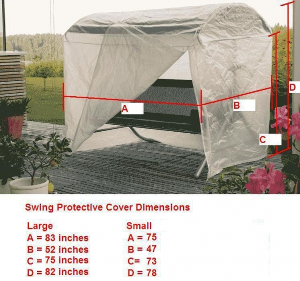 Quality Protective Swing Cover - Small for sale
