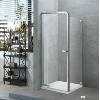 Buy cheap Inward Opening Door , Internal Recess Or Outward Door Framed Pivot Shower Enclosure with Hings from wholesalers