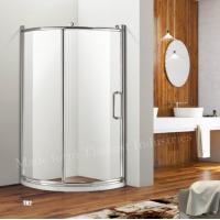 Buy cheap Left Handed or Right Direction Offset Quadrant Sliding Door Shower Enclosure from wholesalers