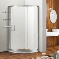 Buy cheap Double or Single Opening Door Framed Shower Enclosure with Roller from wholesalers