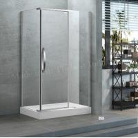 Buy cheap Completely Frameless Walk in Shower Door Enclosure in Rain Glass from wholesalers