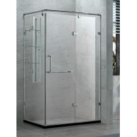 Buy cheap Bi-fold Tempered and Easy Clean Clear Galss Reversiable Shower Enclosure from wholesalers