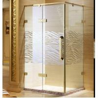 Buy cheap Single Semi-fold Toughened Safety Glass Shower Door Enclosure from wholesalers