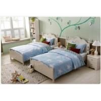 Queen Full King Size White Platform Base Bed in White Color Finished