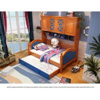 Twin Trundle Bed with Bookcase Platform Manufactures