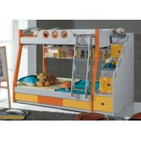 China Shower Enclosure Kids Bed Storage Avaialbe with Ladder Drawers For Kids Bed on sale