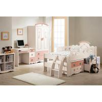 China Shower Enclosure Kids Bed Kids Convertible Todder Slat Bed with Safe Rail on sale