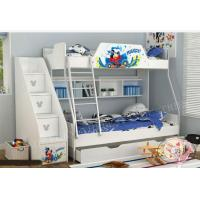 Children Wood Twin Toddler Bed in White Manufactures