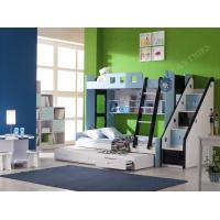 Fuction Bookshelves and Extra Srorage Stairs Bunk Full Size Trundle Manufactures