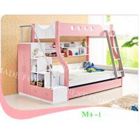 Twin Over Bunk Bed with Ladders Chest and Bookcase Drawers in Bedroom Manufactures