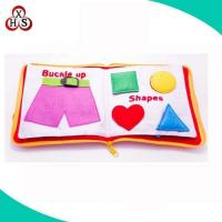 Educational My Quiet Book Baby Cloth Book