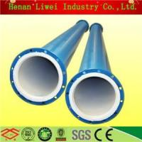 China Rubber lined pipe and pipe fittings PTFE lined pipe fittings on sale
