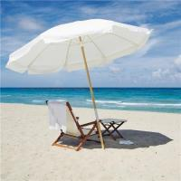 Buy cheap High Quality 36 Steel Big Size Durable Fabric Tilt Patio Sand Beach Umbrellas with Printing Pattern from wholesalers