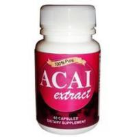 Energy Support Acai Berry Capsules - 60 / 500mg Manufactures