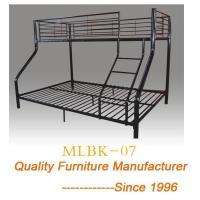 China Futon Bunk Bed Loft Black Sofa Couch Twin Dorm College Ladder Metal Over Kids on sale