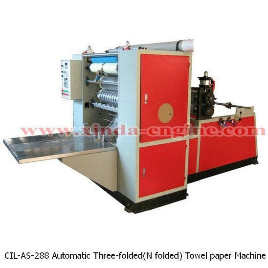 Quality CIL-AS-288 Automatic Three-folded(N folded) Towel paper Machine for sale