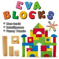 EVA foam building blocks toys for kids eva blocks Manufactures