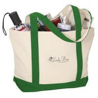 Totes Two-Tone Accent Gusseted Tote Bag