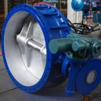 Buy cheap Big electric butterfly valve from wholesalers