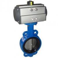 Buy cheap Pneumatic control butterfly valve from wholesalers