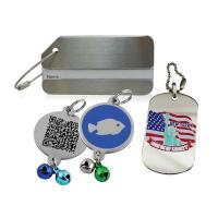China Luggage Tags/ Military Dog Tags/ Pet ID Tags on sale