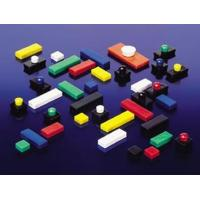 Organize Colorful Plastic Coated Rectangular Ferrite Anisotropic Magnets Manufactures